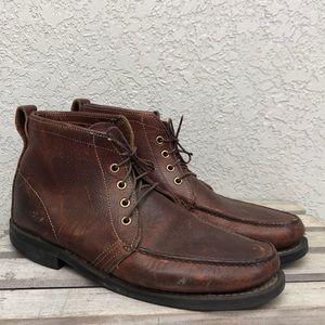 Orvis Savauge Leather Chukka Boots 10.5 Vibram